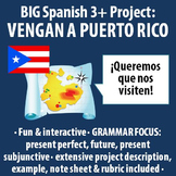 Spanish 3+ - BIG Project - Persuasive Letter to Come Visit Puerto Rico