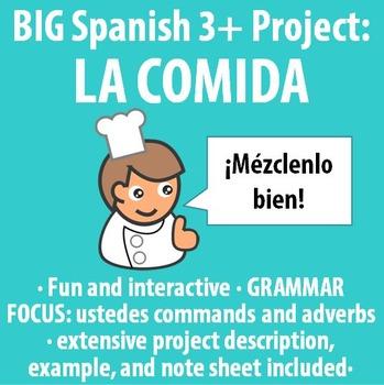 Spanish 3+ - BIG Project - Restaurant Critique and Recipe