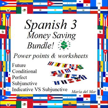 Spanish 3 Bundle