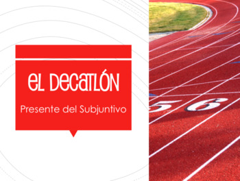 Spanish 3 Bundle:  Decathlon Games
