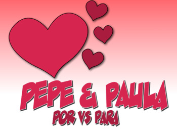 Spanish 3 Bundle:  Pepe and Paula Readings