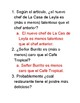 Spanish 3 Comprehension Questions
