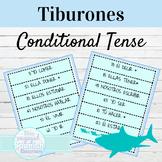 Spanish Conditional Tense Tiburones Conjugation Game