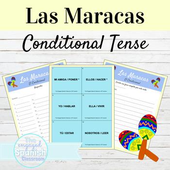 Spanish Conditional Tense / El Condicional: Maracas Conjugation Game