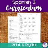 Spanish 3 Curriculum
