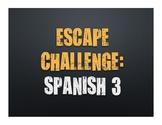 Spanish 3 Escape Challenge