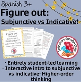 Spanish 3 - Figure Out: The Present Subjunctive vs. Presen