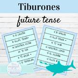 Spanish Future Tense Tiburones Game