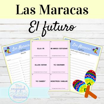 Spanish 3 Future Tense / El Futuro: Maracas game
