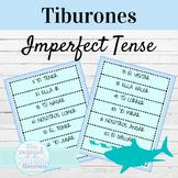 Spanish Imperfect Tense Tiburones Game