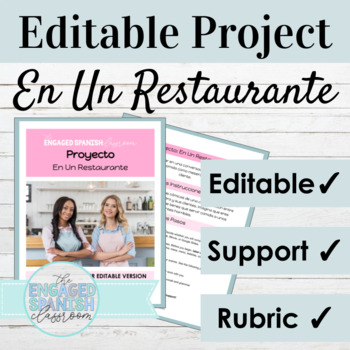 Spanish Mini Project: Informal Commands and Object Pronouns with Food Vocab