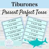 Spanish Present Perfect Tiburones Game