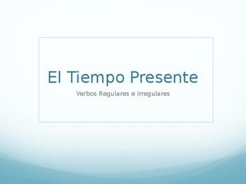 Spanish 3: Present Tense PowerPoint