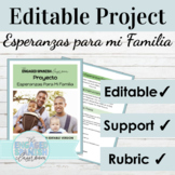 Spanish Family Vocab with Advanced Grammar Mini Project