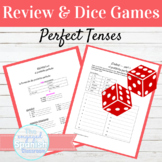Spanish Present Perfect and Pluscuamperfecto Review Packet and Dice Activity