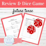 Spanish Future Tense Review and Dice Game
