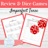 Spanish Imperfect Tense Dice Game