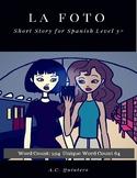Spanish 3+ Story (Activities Included): La foto- Social Media-themed