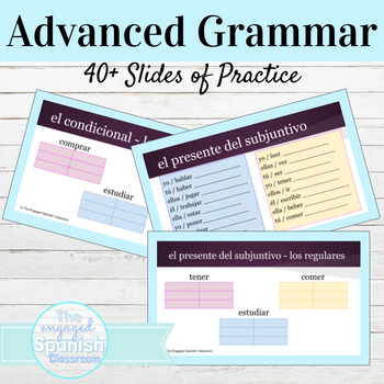 Spanish Advanced Grammar Review Packet