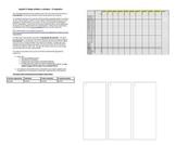 Spanish 3 or up Brochure Project Bundle