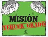 Spanish 3rd Grade Beginning of the Year Activity Spy Theme, Editable