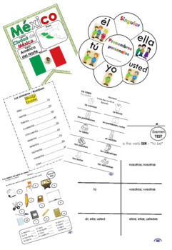 Spanish 3rd grade complete bundle. (worksheets, Tests ...