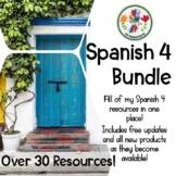 Spanish 4 Growing Bundle