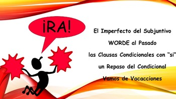 Spanish 4 (UHS) Unit- Imperfect Subjunctive, If Clauses, Pluperfect Subjunctive