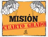 Spanish 4th Grade Beginning of the Year Activity Spy Theme