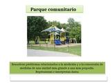 "Spanish 4th Grade Critical Area 3  "" Community Playground"" Math Performance Task"