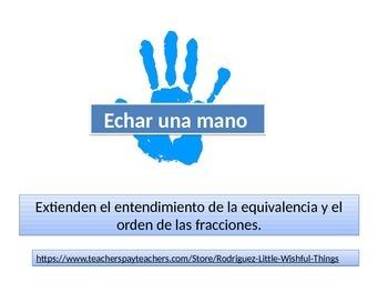 Spanish 4th grade Chapter 7 Math performance task