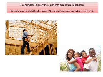 "Spanish  4th grade ""Critical area 1"" performance task"