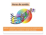 Spanish  5th grade Chapter 7  Math performance task