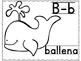 Spanish ABC Alphabet Black & White | Abecedario para color