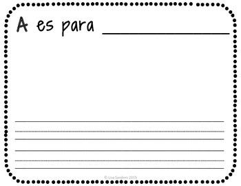 ABC Book in Spanish