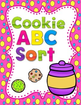 Spanish ABC Cookie Sort:  Dual Language Bilingual Center