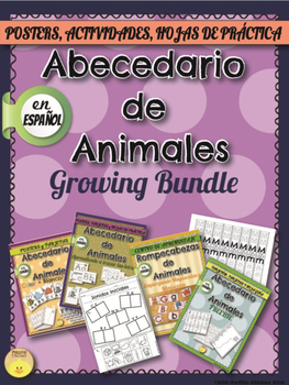 Spanish - ABC Growing Bundle