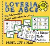 Spanish ABC Lotto Game - Lotería de ABC