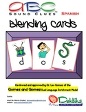 Spanish ABC Sound Clues Blending Cards