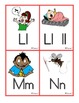 Spanish ABC Sound Clues Word Wall Smaller Sized Cards