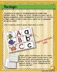 Spanish - ABC matching learning center. Centro de aprendiz