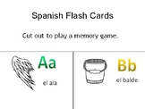 Spanish ABCs flashcards