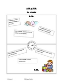Spanish A.M. and P.M. Activity/ Time
