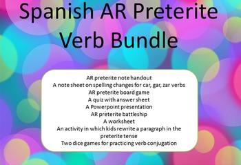 Spanish AR Preterite Bundle