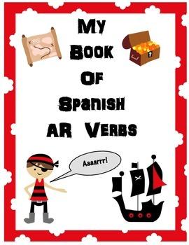 Spanish AR Verb Book
