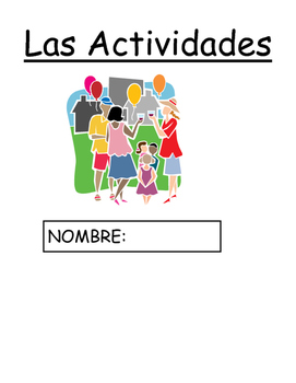 Spanish AR Verb Packet - Las Actividades