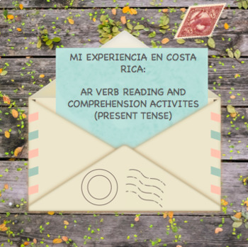 Spanish AR Verb Reading (Present Tense)