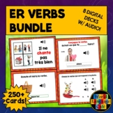 French ER Verbs Boom Cards, French Digital Flashcards, Task Cards