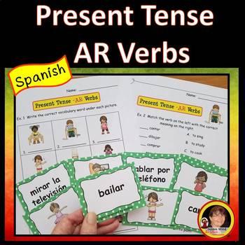Spanish Present Tense Review
