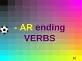 Spanish AR verbs